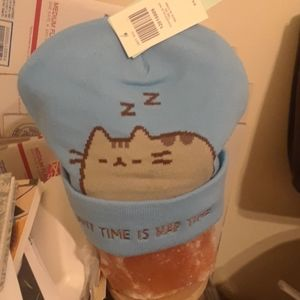 NWT Pusheen Naptime Themed Beanie Cap